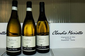 three vineyards for three lables