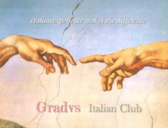 You and Gradvs Italian Club, together
